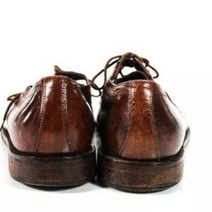 Johnston & Murphy Shoes - JOHNSTON & MURPHY BROWN SQUARE TOE SHOES SIZE 8.5